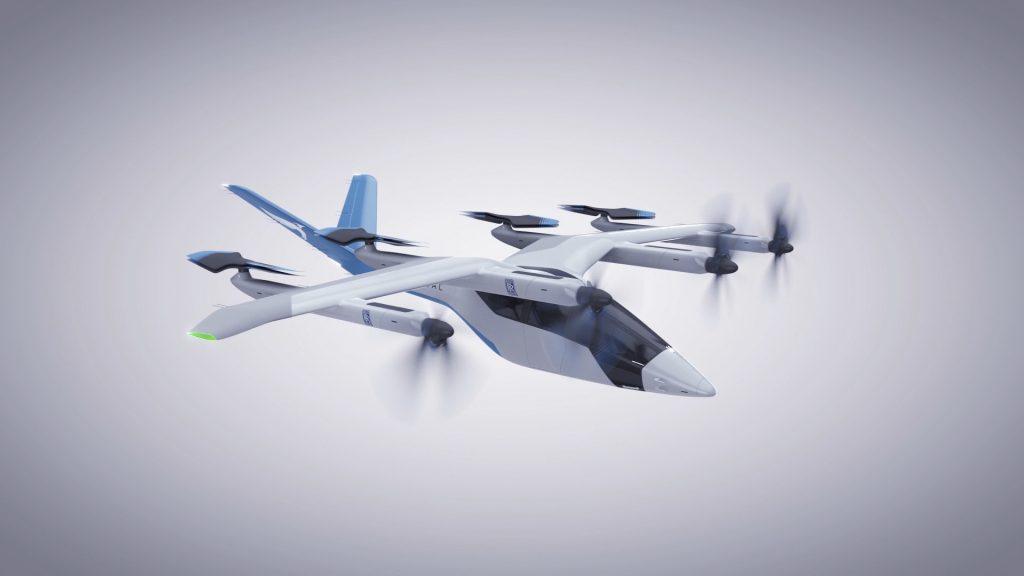Rolls-Royce Antrieb für Vertical Aerospace Elektroflugzeug